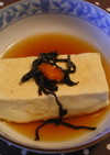 レンジで簡単湯豆腐☻