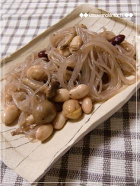 簡単☆バルサミコ風味の春雨サラダ