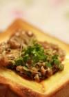 健康レシピ☆納豆酢チーズトースト