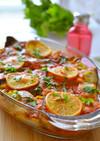 トルコの家庭料理☆カツオのオーブン焼き