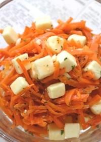 人参とチーズのオレンジ風味サラダ♪