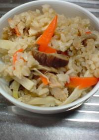 簡単☆筍の炊き込みご飯