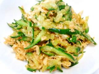 ★切干大根とキュウリの中華風サラダ★