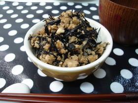 ❄ 豆腐とひじきだけの丼 ❄