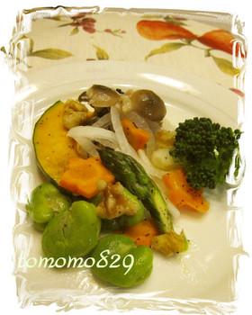 ☆ルクエde❤温野菜の簡単ダイエット♬☆