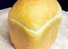 牛乳で「ふんわり食パン」♪HB使用