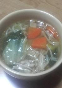 白菜のコンソメ煮。