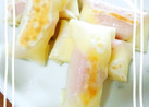餃子の皮で簡単!ハムとチーズの包み焼き♪