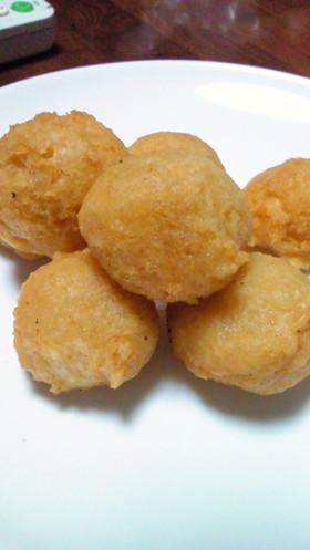 ふんわりもっちり★保育園の豆腐ドーナツ
