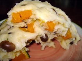 ローズマリー風味の蒸しケーキ
