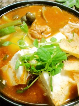 韓国のお鍋❀スンドゥブチゲ