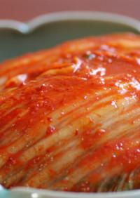 オモニの味*手作り白菜キムチ