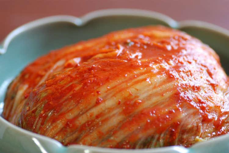 作り方 白菜 キムチ の