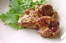 鶏肉の味噌漬け焼き。