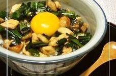 鶏胸肉DE☆ニラトリ丼 ヾ(♡ω♡)