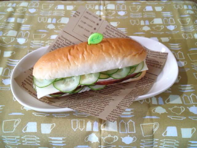 子供と作ろう♪焼豚サンドイッチ