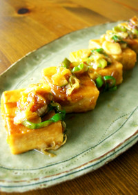 高野豆腐の照り焼き