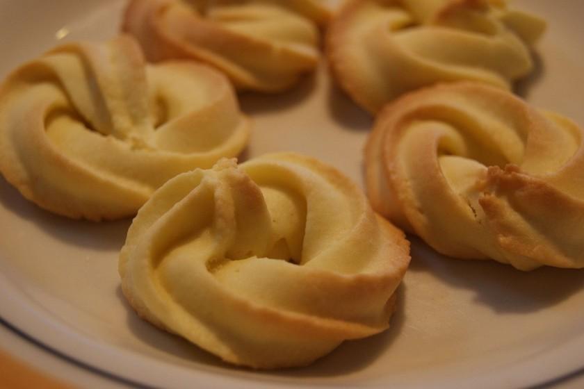 サラダ油で簡単絞り出しクッキー