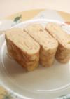 ウチの基本☆お弁当に☆甘くない卵焼き