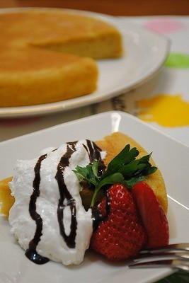 HM×炊飯器で 簡単プリンケーキ ☆