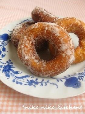 おいしい♡ホットケーキミックスのドーナツ