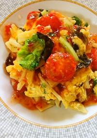 ♡余った筍と冷蔵野菜 簡単アジアン炒め♡
