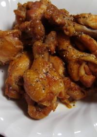 鶏手羽元のケチャップソース煮