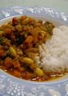 野菜たっぷり✾大豆のキーマカレー