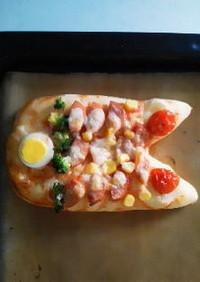 子どもの日に♣鯉のぼりピザ♣