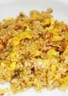 【辛口『豚肉と白菜キムチ』炒飯】の作り方