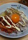 *TKG*納豆キムチマヨの卵かけご飯*