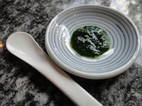 ★離乳食★【初期】小松菜のすりつぶし