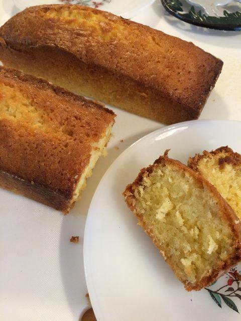 簡単パウンド・ケーキ。