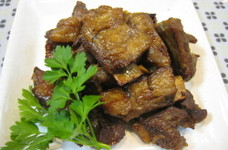 豚スペアリブor鶏手羽元でさっぱり煮