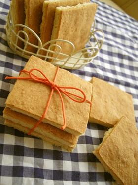 サラダ油de簡単ザクッ鳩サブレ風クッキー