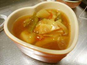 圧力なべでずぼらさんの脂肪燃焼スープ★