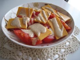 シンプル簡単!!トマトとチーズのサラダ♪