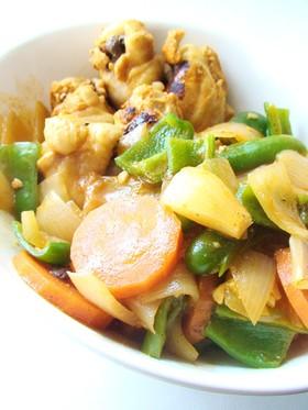 鶏手羽元のカレーケチャップ煮*
