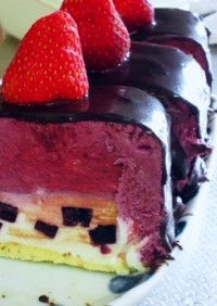 ショートムースケーキ