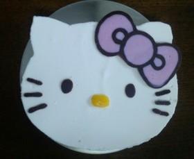 ◆キティーちゃんのレアチーズケーキ