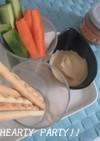 野菜スティック with豆腐ようソース