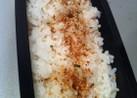 お弁当のふりかけ重ねご飯♥♥