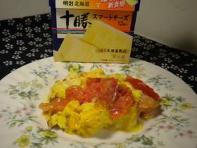 スマートチーズで栄養補給\(^o^)/