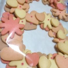 らぶりぃ~☆お誕生日リースクッキー