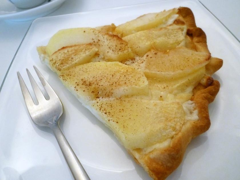 フルーツ&マスカルポーネのピッツァ