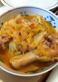 エスニック☆ピリ辛チキンのトマト煮♪