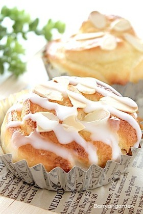 HB使用♡アーモンドクリームパン