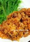 レタスで食べる豚キムチご飯!