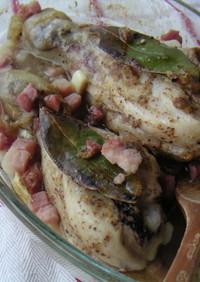 鶏肉とマスタードのオーブン焼き♪