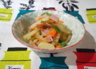 3色野菜のイタリアン風ソテー